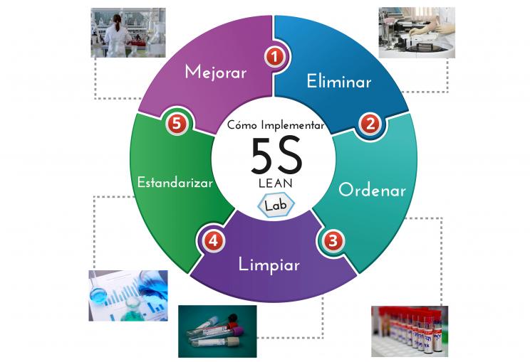 Aplicar las 5s en laboratorios